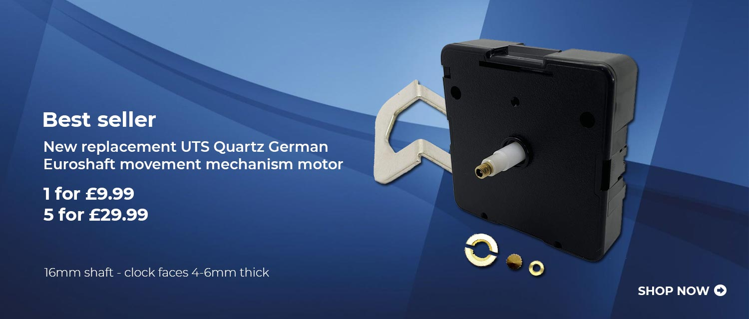 New Replacement UTS Quartz German Euroshaft Movement Mechanism Motor
